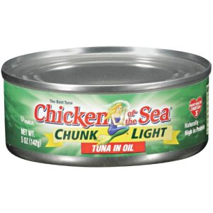 Chicken of the Sea Chunk Light Tuna in Oil – 5oz