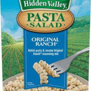 (4 Pack) Hidden Valley Original Ranch Pasta Salad – 7.09 Oz