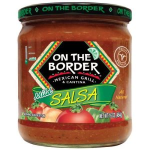 On the Border Original Mild Salsa, 16-Ounce