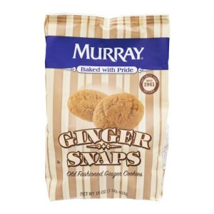 (3 Pack) Murray Old Fashioned Ginger Snaps Cookies, 16 Oz