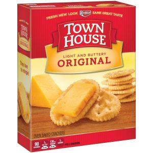 Keebler Town House Light Buttery Crackers Original – 13.8 Oz