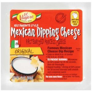 El Viajero Mexican Dipping Cheese, Original, 12 Oz.