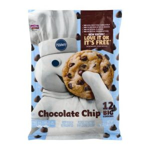Pillsbury Ready to Bake Chocolate Chip Cookies, 12 Ct, 16 Oz