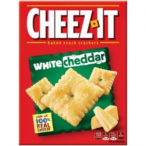 Cheez-It White Cheddar Baked Cheese Crackers – 12.4 Oz Box