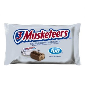3 Musketeers, Fun Size Chocolate Candy Bars, 10.48 Oz. Bag