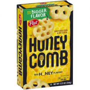 Honey-Comb Cereal – 12.5 Oz