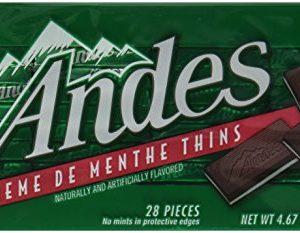 Andes Creme De Menthe Thins Candy, 4.67 Oz.