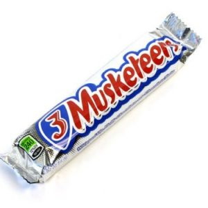 3 Musketeers Chocolate Candy Bar Single Size, 1.92 Ounce