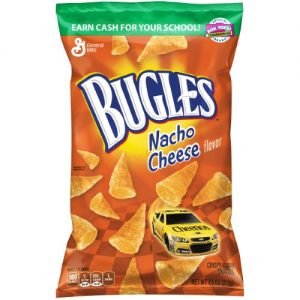 (4 Pack) Bugles Original Crispy Corn Snacks, 7.5 Oz Bag