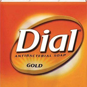 Dial Gold Antibacterial Deodorant Soap 3 X 4 Oz