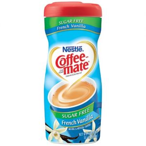 Nestl Coffee-Mate – French Vanilla -Sugar Free 10.2 OZ