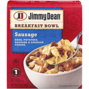 Jimmy Dean® Sausage, Eggs, Potatoes & Cheese Breakfast Bowl, 7 Oz.