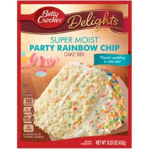 Betty Crocker Rainbow Chip Cake Mix – 15.25oz