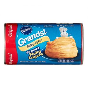 Pillsbury Grands! Flaky Layers Biscuits – 16.3oz/8ct