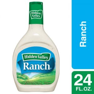 Hidden Valley Original Ranch Salad Dressing & Topping, Gluten Free – 24 Oz Bottle
