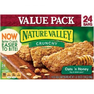 Nature Valley Crunchy Oats 'N Honey Granola Bars Value Pack