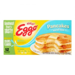 Kellogg's Eggo Buttermilk Pancakes 12 Ct Box