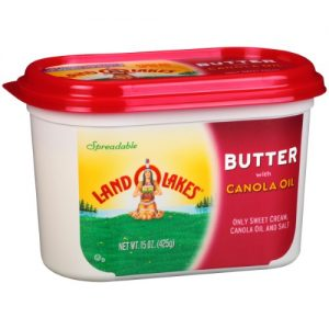 Land O Lakes Butter with Canola Oil, 15 Oz.