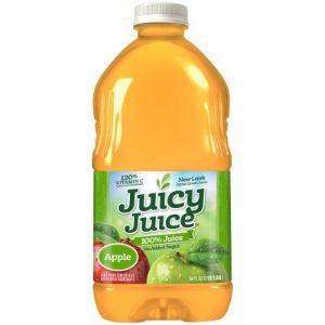 (2 Pack) Juicy Juice 100% Juice, Apple, 64 Fl Oz, 1 Count