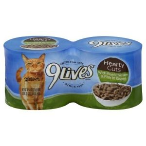 9Lives Daily Essentials Tender Chicken in Gravy All Stages Wet Cat Food, 5.5 Oz. Can