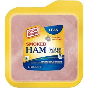 Oscar Mayer Smoked Cooked Ham, 16 Oz Vacuum Pack