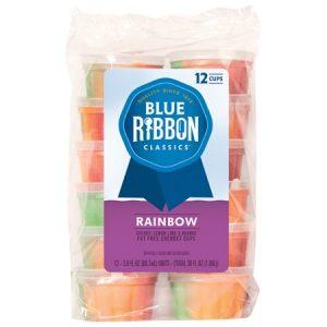 Blue Ribbon Classics Rainbow Sherbet Cup , 12pk