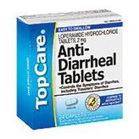 TopCare Anti Diarrheal Tablets, 36 Ct. (Compare to Immodium AD)