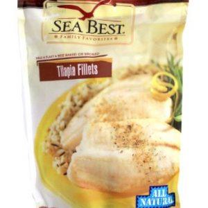 SEA BEST Frozen Tilapia Fillets