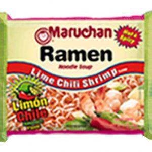 Maruchan Ramen Noodle Soup Lime Chili Shrimp Flavor – 3oz