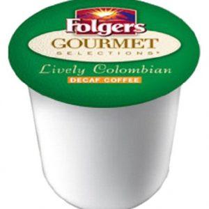 Folgers Coffee Decaf Colombian Keurig K-Cups