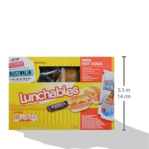 Lunchables Lunch Combinations Mini Hot Dogs, 9.3 Oz Box