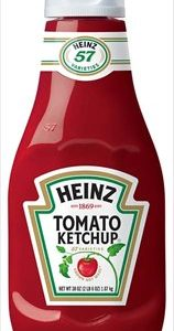 (2 Pack) Heinz Tomato Ketchup, 38 Oz Bottle
