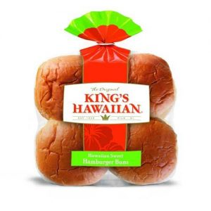 Hawaiian Sweet Hamburger Buns