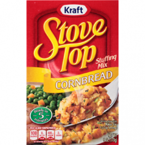 (3 Pack) Kraft Stove Top Cornbread Stuffing Mix, 6 Oz Box