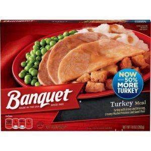 Banquet Classic Turkey Frozen Single Serve Meal 10 Ounce