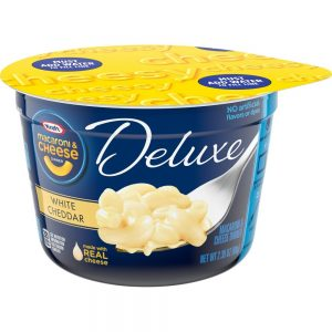 Kraft Deluxe White Cheddar Macaroni and Cheese Dinner – 2.39oz