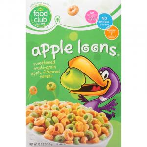 Apple Loons Food Club Cereal