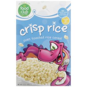 Crisp Rice Food Club Cereal